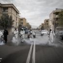 تصاویر عملیات ضدعفونی معابر عمومی محله نبرد