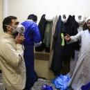تصاویر نوروز نیروهای جهادی در کنار کادر پزشکی قم