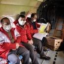 تصاویر گشت هوایی هلال احمر گلستان
