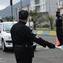 تصاویر اعمال محدودیت ترافیکی و کنترل ترددها در محور آستارا - تالش