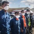 تصاویر رزمایش مدافعان سلامت در منطقه ۱۳ تهران