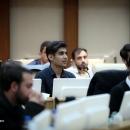 تصاویر نشست جمعی از اعضای تشکل های دانشجویی با وزیر بهداشت