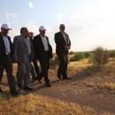 اهتمام جدی مسئولان برای تحقق چشم انداز ایجاد پوشش گیاهی در ۹۰۰ هکتار از اراضی بیابانی
