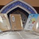 پنج کتاب موسسه فقهی تفسیری مدینه الولایه رونمایی شد