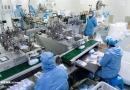 تصاویر کارخانه تولید ماسک در چین