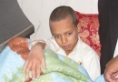 نجات كودك 8 ساله در خانه ای متروك وسط بيابان