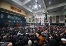 تصاویر عزاداری شب شهادت حضرت فاطمه زهرا (س) در حسینیه امام خمینی(ره)