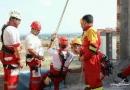 برگزاری مانور اطفاء حریق و امداد و نجات در منطقه هشت