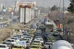 ترافیک نیمه سنگین در شهرهای  - حمیل، ماهیدشت و بیستون -  -  رانندگان از توقف بی مورد پرهیز کنند