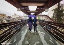 تصاویر طراوت روز بارانی در گرگان
