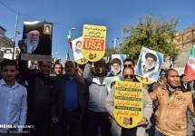 تصاویر راهپیمایی حمایت از اقتدار و امنیت در شیراز