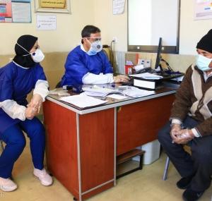 تصاویر بخش ویژه کرونا بیمارستان شهید بهشتی قم