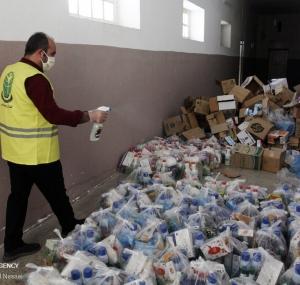 تصاویر توزیع اقلام و آموزش نکات بهداشتی در مناطق کم برخوردار گلستان