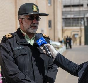 تصاویر کشفیات مواد محترقه نیروی انتظامی در شیراز
