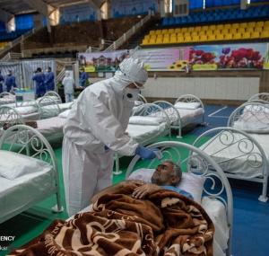 تصاویر نقاهتگاه ۲۰۰ تختخوابی ارتش برای بیماران کرونایی در شیراز