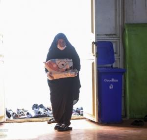 تصاویر کارگاه دوخت لباس محافظ پزشکی در اهواز