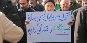 تصاویر راهپیمایی مردم اردبیل در محکومیت اغتشاشگران